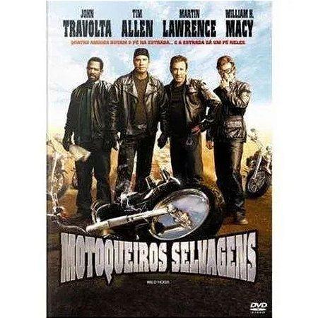 DVD Motoqueiro Selvagens - John Travolta