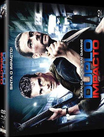 Blu Ray + 2 DVD + CD Trilha Sonora DUPLO IMPACTO VAN DAMME