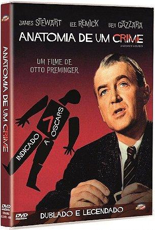 DVD Anatomia de um Crime