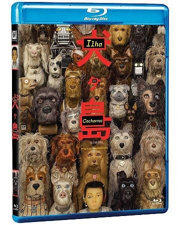 Blu Ray Ilha Dos Cachorros - Bryan Cranston
