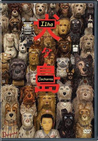 DVD Ilha Dos Cachorros - Bryan Cranston PRÉ VENDA 02/12/20