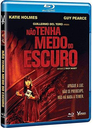 Blu-ray Não Tenha Medo do Escuro