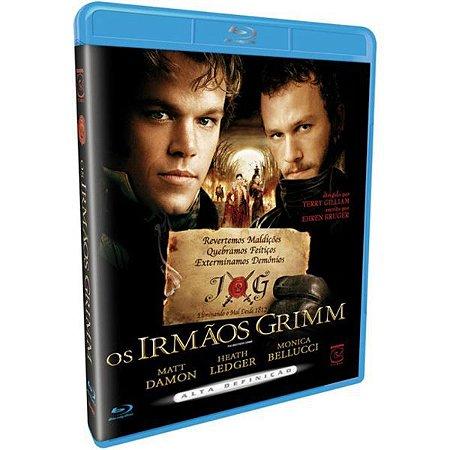 Blu-ray - Os Irmãos Grimm - Matt Damon