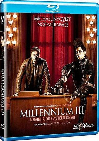 Blu Ray Millennium 3 A Rainha do Castelo de Ar