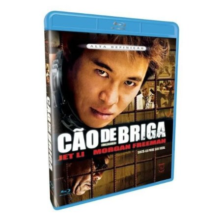 Blu Ray Cão de Briga - Jet LI - Morgan Freeman
