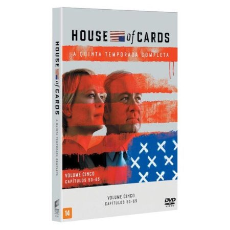 DVD - House of Cards - 5ª Temporada