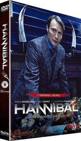 Dvd Box - Hannibal - Primeira Temporada - Vol. 2