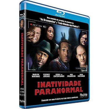 Blu-Ray - Inatividade Paranormal