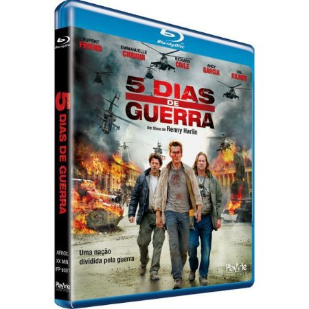 Blu-Ray - 5 Dias de Guerra - Val Kilmer