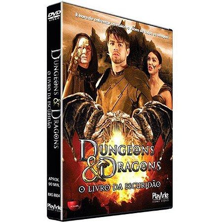 DVD - Dungeons e Dragons: O Livro da Escuridão