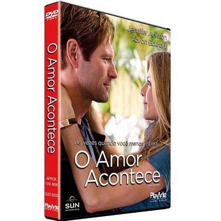 DVD - O Amor Acontece - Aaron Eckhart