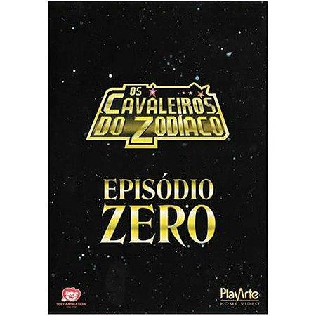 Dvd - Os Cavaleiros Do Zodíaco - Ep Zero