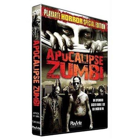 Dvd - Apocalipse Zumbi