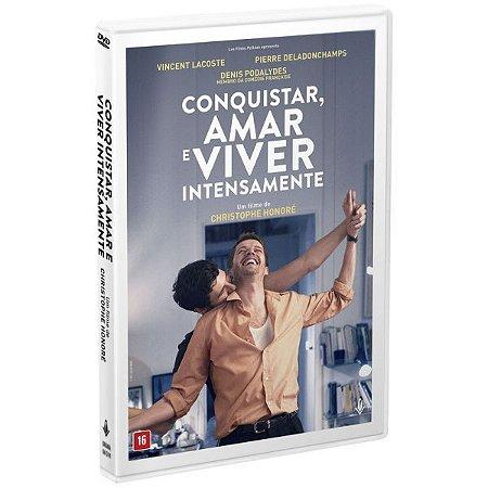DVD - CONQUISTAR, AMAR E VIVER INTENSAMENTE - Imovision