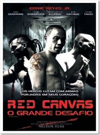 DVD Red Canvas: O Grande Desafio - SARA DOWNING
