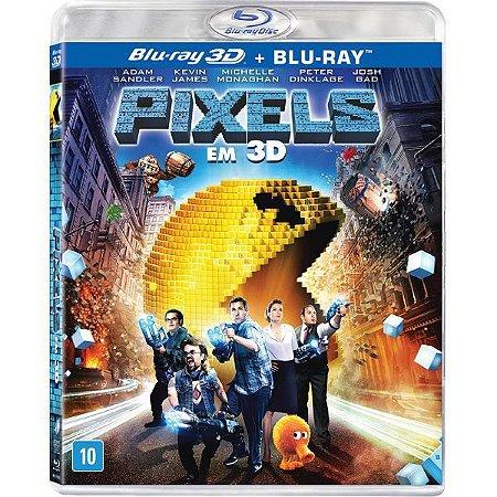 Blu-Ray 3D+2D Pixels: O Filme