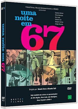 DVD - Uma noite em 67 - Bretz filmes