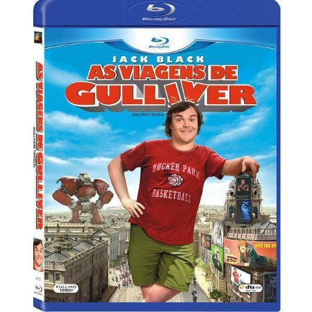 Blu-Ray As Viagens De Gulliver - Jack Black