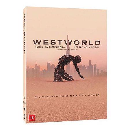 DVD WESTWORLD – TERCEIRA TEMPORADA: UM NOVO MUNDO PRÉ VENDA 03/12/20
