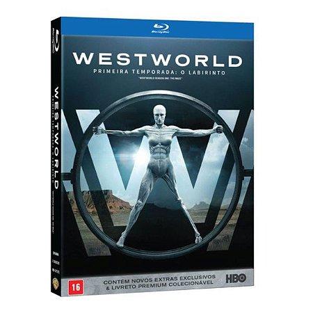 Blu-Ray Box - WestWorld - 1ª Temporada: O Labirinto