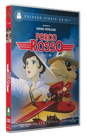 DVD Porco Rosso - Studio Ghibli - Versatil