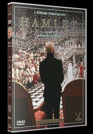 DVD Duplo  Hamlet (1996) - Versátil