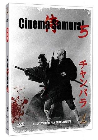 DVD CINEMA SAMURAI VOL.5 - VERSÁTIL