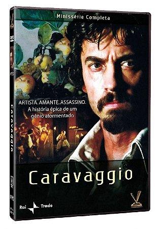 DVD Caravaggio – Minissérie Completa – Versátil