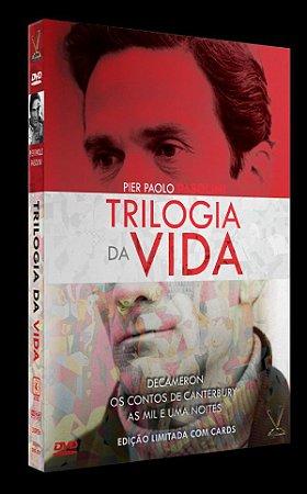 DVD TRILOGIA DA VIDA - Pasolini  (03 DVD)