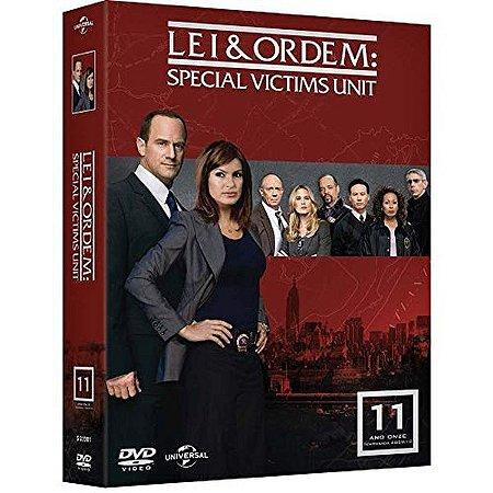 DVD - Lei & Ordem: Special Victims Unit - 11ª Temp - 5 Disco