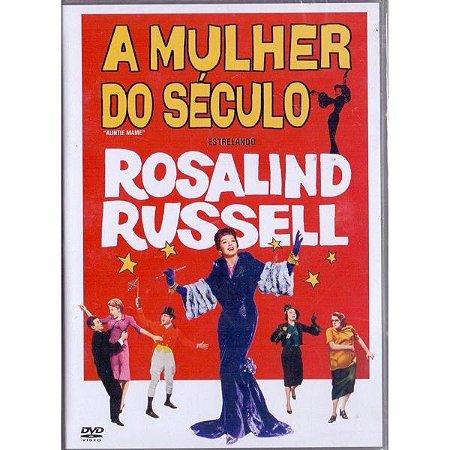 Dvd A Mulher do Século - Rosalind Russell - SNAPCASE