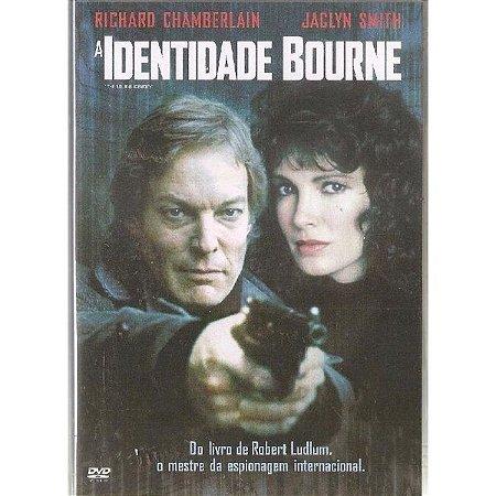 Dvd A Identidade Bourne - Richard Chamberlain
