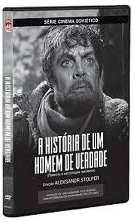 DVD A HISTORIA DE UM HOMEM DE VERDADE - Aleksandr Stolper