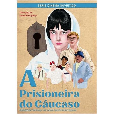 DVD A Prisioneira do Cáucaso - Leonid Gayday
