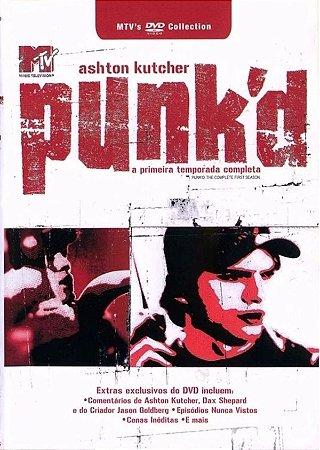 DVD Duplo Punk'd - 1ª Temporada - Ashton Kutcher