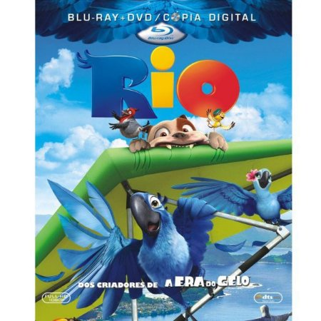 Blu-Ray + DVD - Cópia Digital - Rio