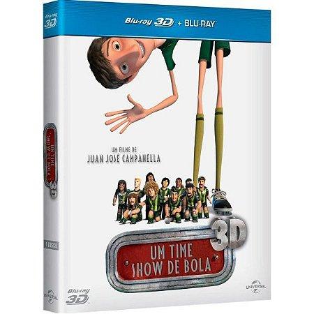 Blu-Ray + Blu-Ray 3D - Um Time Show De Bola