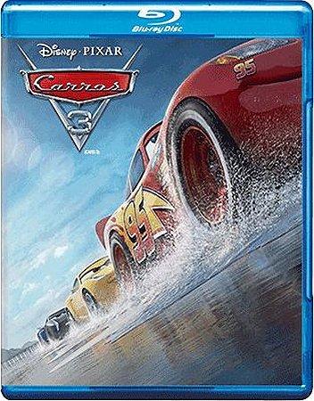 Blu-ray - Carros 3 - Disney Pixar