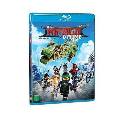 Blu-Ray Lego Ninjago O Filme