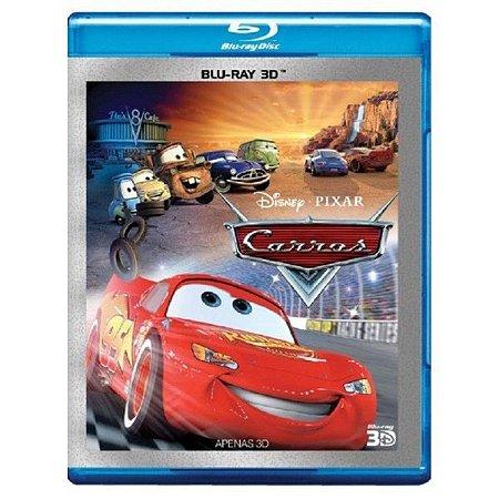 Blu Ray 3D Carros