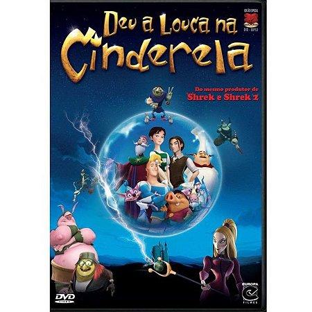 Dvd DUPLO - Deu a Louca na Cinderela