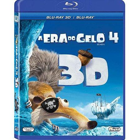 Blu Ray 3D A Era do Gelo 4