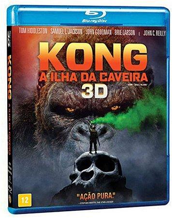 Blu-Ray 3D + Blu-Ray Kong - A Ilha Da Caveira