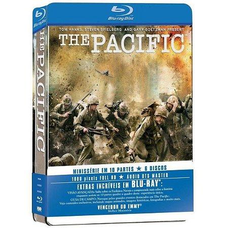 Box Blu-ray The Pacific - Série Completa - Lata