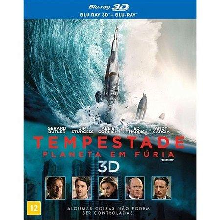 Blu-Ray + Blu-Ray 3D - Tempestade: Planeta em Fúria (Luva)