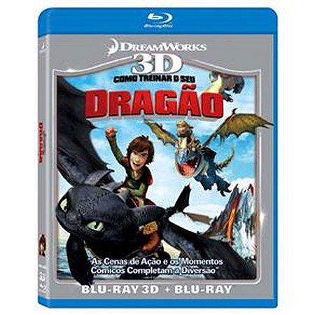 Blu-ray 3D + Blu-ray Como Treinar o Seu Dragão
