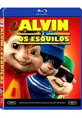 Blu Ray Alvin e os Esquilos