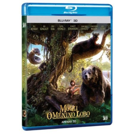 Blu-Ray 3D - Mogli: O Menino Lobo