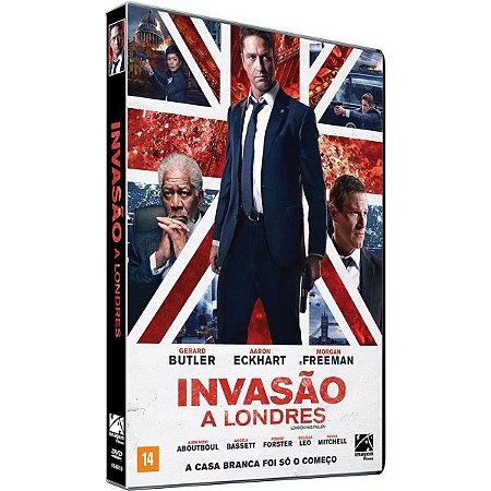 DVD - Invasão a Londres - Gerard Butler