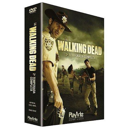 Box Dvd The Walking Dead 2 Temp - 4 Discos